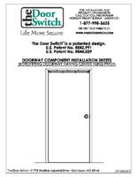 Double Acting Door Installation
