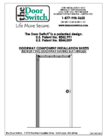 Continuous Hinge Installation Instructions